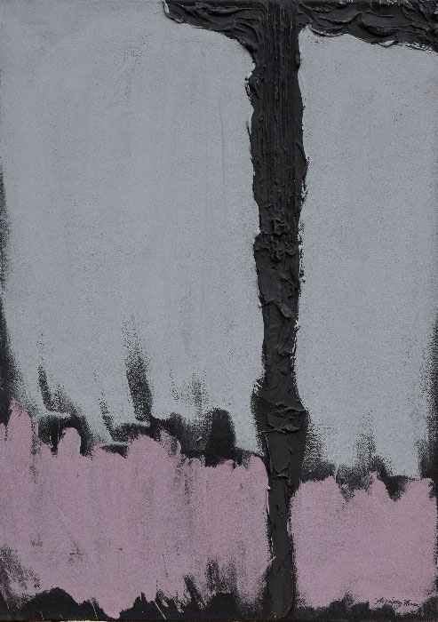 """""""Abstract 23"""", mixed media on canvas, 50x70cm."""